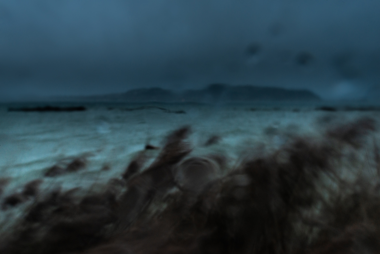 Tempête sur le lac de Morat